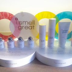 Here is a sneak peek of our counter display! i smell great will be selling in stores very soon! Stay tuned!!