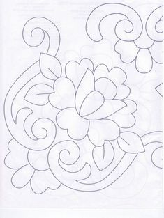 The Latest Trend in Embroidery – Embroidery on Paper - Embroidery Patterns Cutwork Embroidery, Embroidery Flowers Pattern, Hungarian Embroidery, Paper Embroidery, Embroidery Designs, Doodle Patterns, Craft Patterns, Fairy Coloring Pages, Quilting Stencils