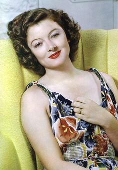 Myrna Loy ~ I just love her, so enjoyable to watch!