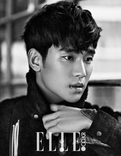 More Of Kim Soo Hyun For The January 2015 Issue Of Elle Korea   Couch Kimchi