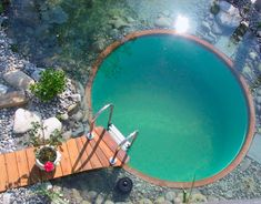 Une belle piscine naturelle.
