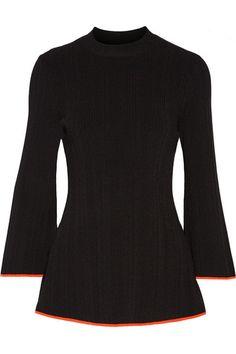 PROENZA SCHOULER Ribbed-Knit Top. #proenzaschouler #cloth #knitwear