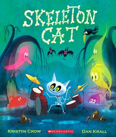 Skeleton Cat, A Fun-Filled Halloween Book For All Ages