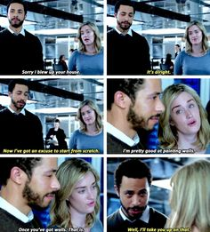 Patterson and Borden are my new ship. Unfortunately Borden is a spy for the bad guys. Ug....