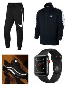 """""""Untitled #43"""" by jlathan15 on Polyvore featuring NIKE, men's fashion and menswear"""