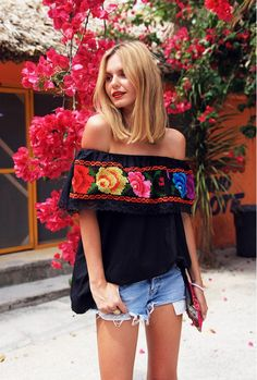 What to Wear to Your Cinco de Mayo Fiesta via @WhoWhatWear