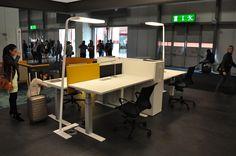 Euroluce 2015 Conference Room, Desk, Table, Stuff To Buy, Furniture, Home Decor, Writing Table, Homemade Home Decor, Desktop