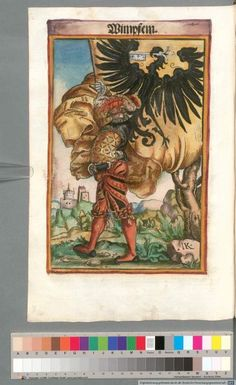 Colour Plate: German State Banners:  Wimpfen, Imperial City