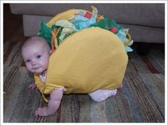 Baby taco - halloween costume I think this is what I want to make Elwood for Halloween this year. At least one of his costumes!