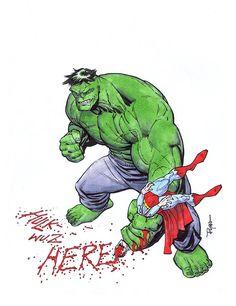HULK VS SUPERMAN by RyanOttley.deviantart.com on @deviantART