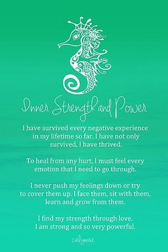 Self Love Quote Discover Affirmation - Inner Strength and Power Poster by CarlyMarie Also buy this artwork on wall prints home decor stationery and more. Positive Thoughts, Positive Vibes, Positive Quotes, Spiritual Awakening, Spiritual Quotes, Spiritual Psychology, Mantra, Inspirierender Text, Feeling Down