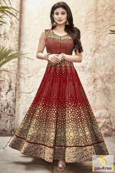 Nagin Actress Mouni Roy Red Color Salwar Kameez Online  Explore your fashion style with wear this dress at party wear occasion.  Order Online@ http://www.pavitraa.in/catalogs/mouni-roy-anarkali-salwar-kameez-and-dresses/?utm_source=cp&utm_medium=pinterestpost&utm_campaign=28jun  Any Query :  Call / WhatsApp :  +91-76982-34040  #Tvserialsalwarsuit, #actresssalwarsuit, #Mouniroysalwarsuit