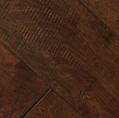 "Picture of Johnson Pacific Coast Birch Mesa- 6-1/2"" hardwood floor, dark floor, wide plank"