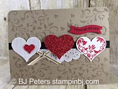 SU! First Sight and Groovy Love (sentiment) stamp sets - BJ Peters