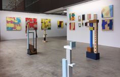 Exhibition of work by Theo Koning and Giles Hohnen in the Art Collective WA gallery.