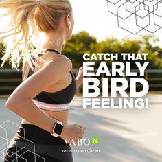"""Morgens sporteln kostet Überwindung, lohnt sich aber: 1. Du hast dein sportliches Soll bereits am Anfang des Tages erfüllt & bist frei von jeglichen schlechtem Gewissen! 😉  2. On top erlebst du das unbeschreibliche """"Early Bird""""-Gefühl, energiegeladen und hellwach in den Tag zu starten. 🔋 Anti Aging, Bmi, Fitness Motivation, Early Bird, Workout, Fitbit, Training, Feelings, Fashion"""