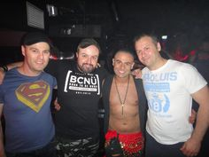 Marco and his back up dancers