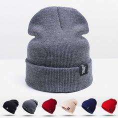 9e8a44767da 2016 New Design Fashion Winter Hat For Men Women Skullies Beanies For Women  Knit Hat Unisex Headgear Female Cap Wholesale Retail