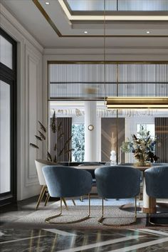 Classic Interior, Luxury Interior, Interior Design, Architecture Board, Interior Architecture, Modern Entryway, Modern Classic, Decoration, Ceilings