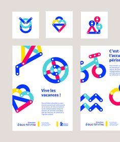 Graphéine - Education Brand Design