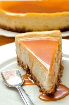 Low FODMAP Recipe and Gluten Free Recipe - Caramel cheesecake http://www.ibs-health.com/low_fodmap_caramel_cheesecake.html