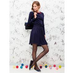Ma shopping list chez Mademoiselle R. Mademoiselle R, Pull Bleu, Bleu Indigo, Sweater Weather, Ideias Fashion, Dressing, High Neck Dress, Boutique, Shopping