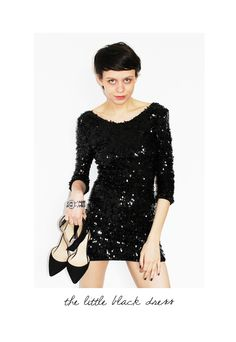 The Stunning Look little black dress Lbd, Dresses With Sleeves, Long Sleeve, Black, Style, Fashion, Swag, Moda, Sleeve Dresses
