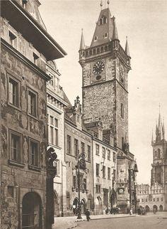 Jiří Jeníček, Prague, Old Market Square, 40's