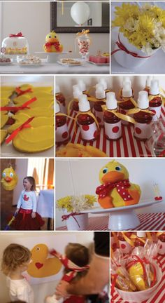 Rubber Duckies!! Abby's 1st Bday theme!