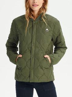 c0fbb3766488 Women s Burton Kiley Down Jacket shown in Forest Night Rain Jackets