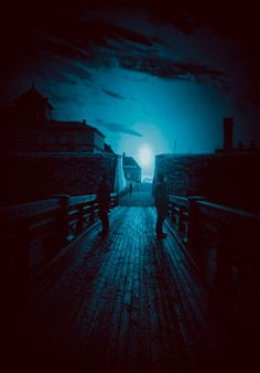 The Quardians by Jari Johnsson Amazing Photography, Paths, Nature, Night, Concert, Dark Teal, Blue, Writing Prompts, Landscapes