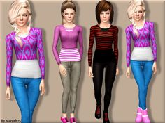 Cool Comfort Outfit by Margeh75 - Sims 3 Downloads CC Caboodle