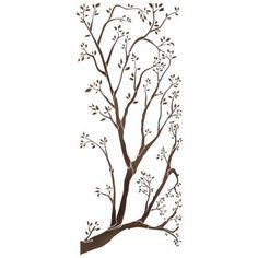 Трафарет Ветка дерева
