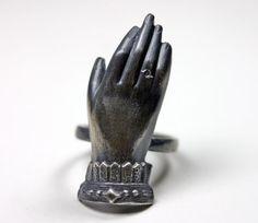 The medium. Lily Dale spiritualist ring. von BloodMilk auf Etsy