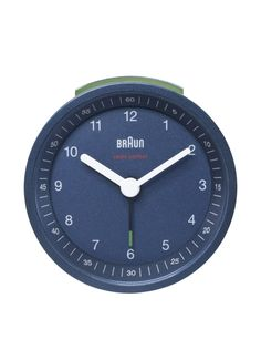 Braun Alarm Clock, Blue at MYHABIT $29 Elegant, classic!
