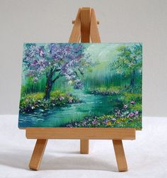 45 Artistic Miniature Painting Ideas Well The Artistic Miniature Painting Ideas Listed In This Article Are Intricate And Delicate Brushwork Which Lends Them A Unique Identity These Paintings Mini Tela, Painting & Drawing, Watercolor Paintings, Watercolor Artists, Painting Canvas, Arte Inspo, Mini Canvas Art, Small Canvas, Beautiful Paintings