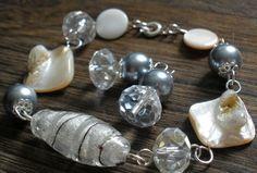 Clear Elegance Pearl Earrings, Pearls, Elegant, Jewelry, Fashion, Classy, Moda, Pearl Studs, Jewlery