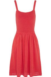 ALICE by TemperleyRay knitted cotton-blend dress