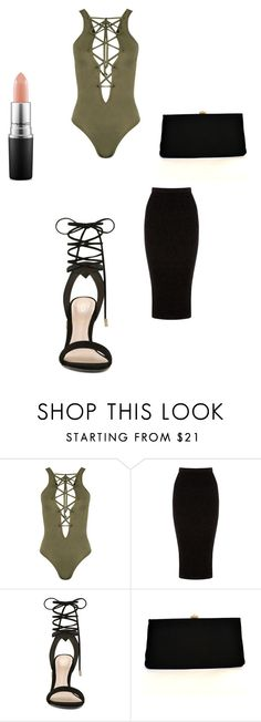"""""""Simple"""" by jkeeper on Polyvore featuring WearAll, Warehouse, ALDO and MAC Cosmetics"""