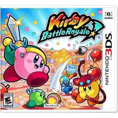 Get Kirby: Battle Royale release date cover art, overview and trailer. Kirby has met his match. Kirby is about to enter a tournament against his toughest rival yet. In local or online battle arenas, fight until the last Kirby standing. Nintendo Ds, Nintendo Games, Nintendo Switch, Super Nintendo, Arcade Games, Pokemon Fusion, Soul Eater, Clash Of Clans, Super Smash Bros