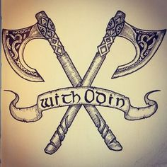 "Résultat de recherche d'images pour ""tattoo viking axe"" Norse Mythology Tattoo, Norse Tattoo, Celtic Tattoos, Indian Tattoos, Armor Tattoo, Wiccan Tattoos, Inca Tattoo, Samoan Tattoo, Polynesian Tattoos"