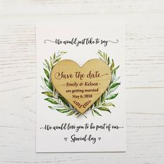 Laurel Wooden Magnet Save The Date Save The Date Postcards, Save The Date Magnets, Save The Date Cards, Country Engagement Pictures, Winter Engagement Photos, Engagement Humor, Engagement Shots, Save The Date Pictures, Dating Quotes
