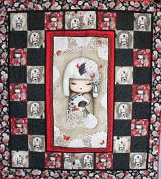 My little Kisha Doll Quilted created by Critterbug Creations Karen Olsen
