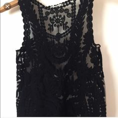 LACE TANK From Urban Outfitters. NEVER WORN. Stone Cold Fox Tops Tank Tops