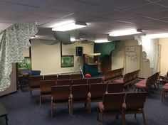Our Bible study area!