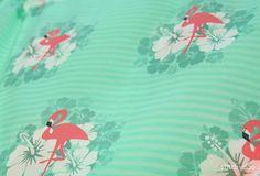 Flamingo Breeze // Tropical Feeling // Fabric design // Stoff // Stoffdesign // by stitchydoo