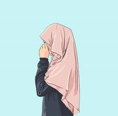I Love  Hijab . »Hfz« Muslim Couples, Muslim Girls, Muslim Women, Islamic Girl, Hijab Cartoon, Anime Muslimah, Hijab Drawing, Casual Hijab Outfit, Girl Hijab