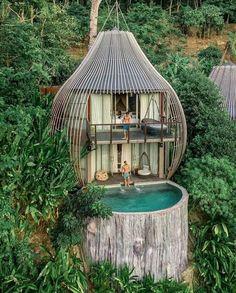 En Phuket_ un bungalow impresionante _piscinas _paraíso _resorts Keemala Phuket, Forest Hotel, Forest Resort, Forest City, Cool Tree Houses, Tree House Designs, Resort Spa, Dream Vacations, Solo Vacation