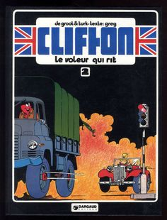 CLIFTON  n°2  Le Voleur qui rit    DE GROOT / TURK / GREG    DARGAUD  1978