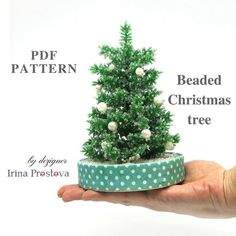 Beaded Flowers Patterns, Tree Patterns, Beading Patterns, All You Need Is, Christmas Tree Pattern, Crochet Christmas, Christmas Ornaments, Christmas Trees, Wire Tree Sculpture